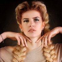 Варвара краса длинная коса :: Катерина Демьянцева