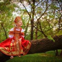 Дети. Русская красавица. :: Эльвира Дадашева