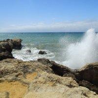 Португалия. Океан резвится. :: Лариса (Phinikia) Двойникова