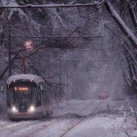 Тяжело в снегопады транспорту :: Андрей Лукашенко