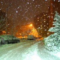 Снегопад... :: azer Zade