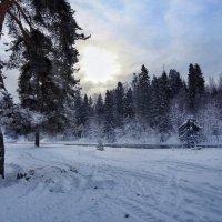 Рассвет над рекой :: Наталья Ерёменко