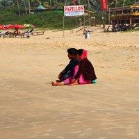 Индийцы на пляже :: Алексей Ломаш