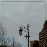 пасмурный февраль... фонарь... :: maxim