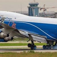 Посадка Boeing 747-400 компании AirBridgeCargo :: Сергей Коньков