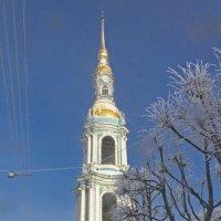 Колокольня Николо-Богоявленского морского собора. :: Senior Веселков Петр