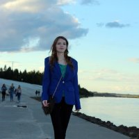 Вечер на набережной :: Светлана Громова