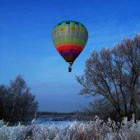 """Весна...пилотам не до сна...(полёт на шаре """"Радуга""""- не рекордный) :: veilins veilins"""