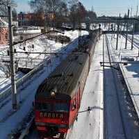 Прибытие Поезда. :: Марина Харченкова