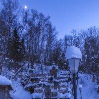 Гремячий ключ при лунном свете :: Сергей Цветков