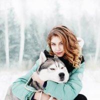 девушка с собакой :: ekaterina kudukhova #PhotobyKaterina