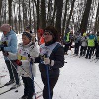 Соревнования по лыжным гонкам в рамках спартакиады «Спорт для всех» :: Центр Юность