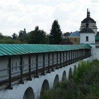 Новоторжский Борисоглебский монастырь. Стенная башня монастыря, 1734-1744 г.г. :: Елена Павлова (Смолова)