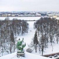 Сенатская площадь с Исаакиевского собора. :: Senior Веселков Петр