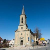 Лютеранская церковь в маленьком городе :: Viktor Schwindt