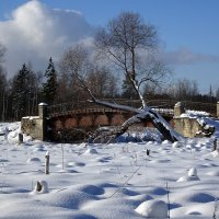 Мост на Тёплой речке :: Елена Смирнова