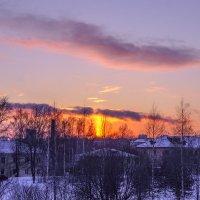 Закат над окраиной :: Юрий Григорьевич Лозовой