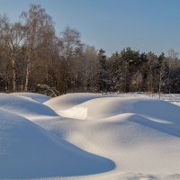 Снежные барханы :: Андрей Дворников