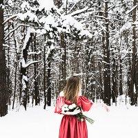 Красное на белом :: Ирина Вайнбранд