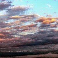 Вечернее небо Владикавказа :: Олег Стасенко