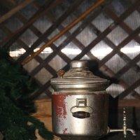 На распутье: то ли чаю выпить, то ли гору белья перегладить... :: Tatiana Markova