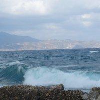 Эгейское море штормит :: Наталья Алексеева
