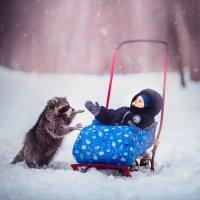 Дай пять, друг! :: Анна Николаева