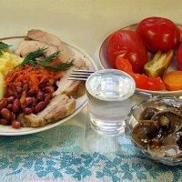А вот ужин я врагу не отдаю!:) :: Андрей Заломленков