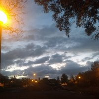 Фонарь и небо :: Инна Крыжановская