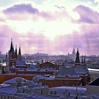 Один день в морозной Москве :: Елена Третьякова