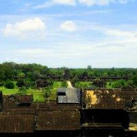 Камбожда.Вид с храмового комплекса.Август 2014 г. :: Ivan G