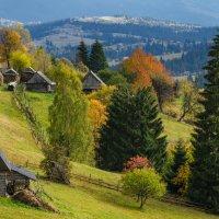 Карпаты в октябре. :: Александр Кодак