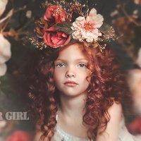Девочка с цветами портрет. Flower Girl :: Ирина Абдуллаева