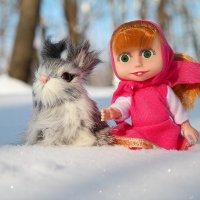Ещё не тает снег у нас в начале марта, но на душе уже тепло! :: Андрей Заломленков