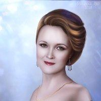 Автопортрет :: Malinka Art Galina Kazan