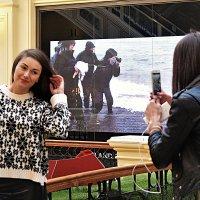 Съёмки в ГУМе не прекращаются! :: Татьяна Помогалова
