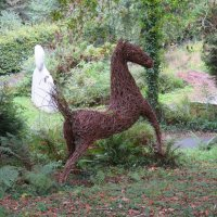 Конь из ивовых веток :: Natalia Harries