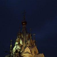 """храм-часовня иконы Божией матери"""" Всех Скорбящих радость"""" ...зимним вечером :: Галина R..."""