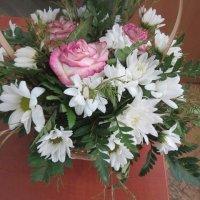 Ромашки с розами :: Дмитрий Никитин