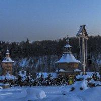 Вечер на Святом источнике :: Сергей Цветков