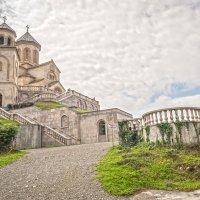 Храм святой Троицы на горе Самеба в Батуми :: Василий Губский