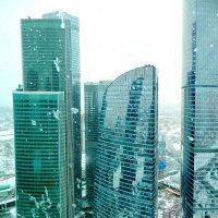 Москва-Сити. Урбанизация :: Алла Захарова
