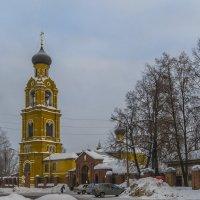 Церковь Николая Чудотворца на Селивановой Горе :: Сергей Цветков