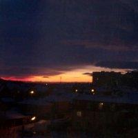 закат :: Анастасия Боровицкая