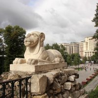 Кремлёвский лев :: Nina Karyuk