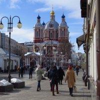 Март в городе :: Андрей Лукьянов