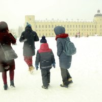 Начало февраля в Гатчине :: Елена Винник