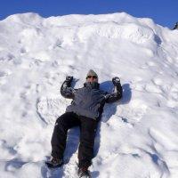 столько снега ! выше головы ! :: Георгий
