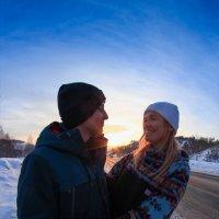 рассвет для двоих :: Людмила Ильина