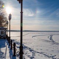 Солнце над Плещеевым озером :: Оксана Пучкова
